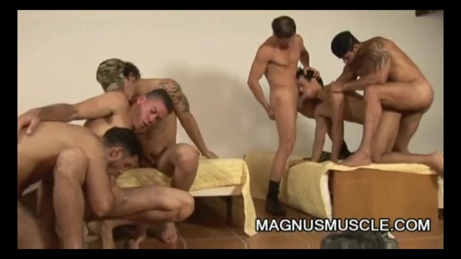 army orgy sex video