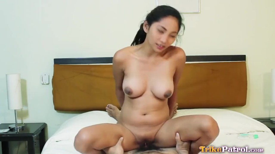 Hot Filipina Babe With Amazing Tits Gets Her Pussy Stuffed -8014