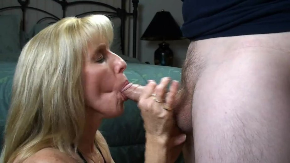 image Guy cums twice during a blowjob