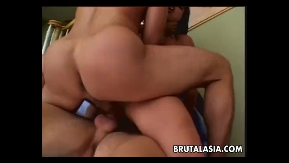 Petite jayna oso fits two cocks in her ass 6