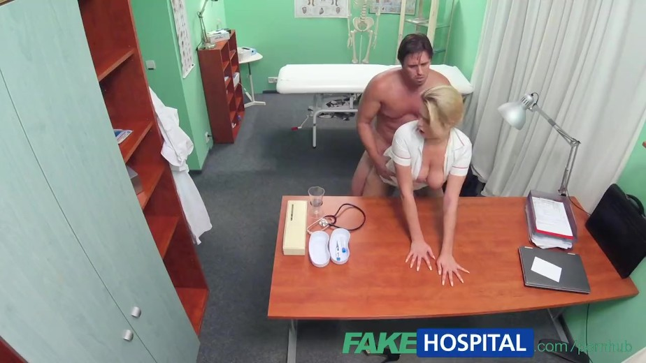 Fakehospital nurse helps stud get an erection 10