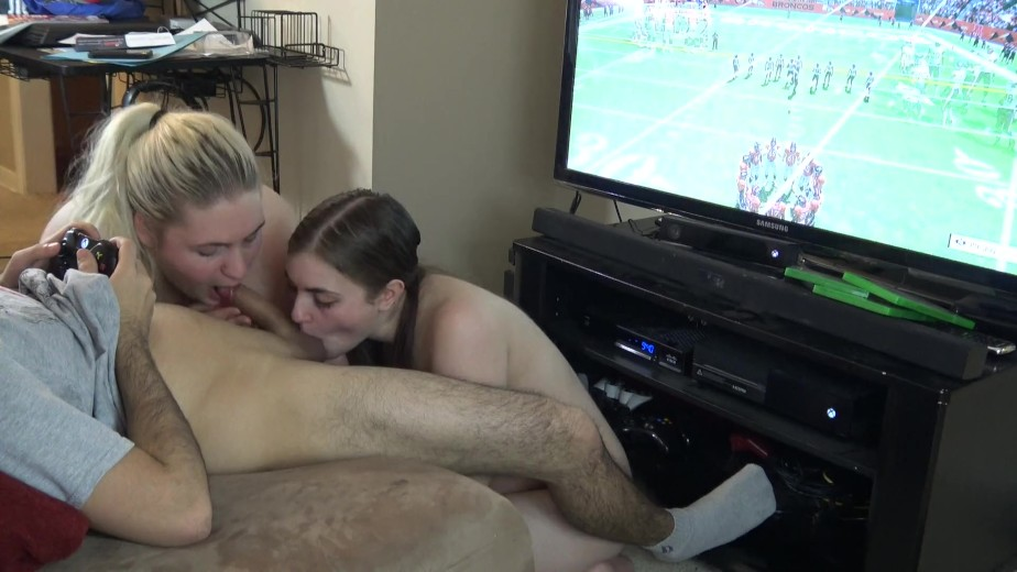 Blowjob While Laying Down