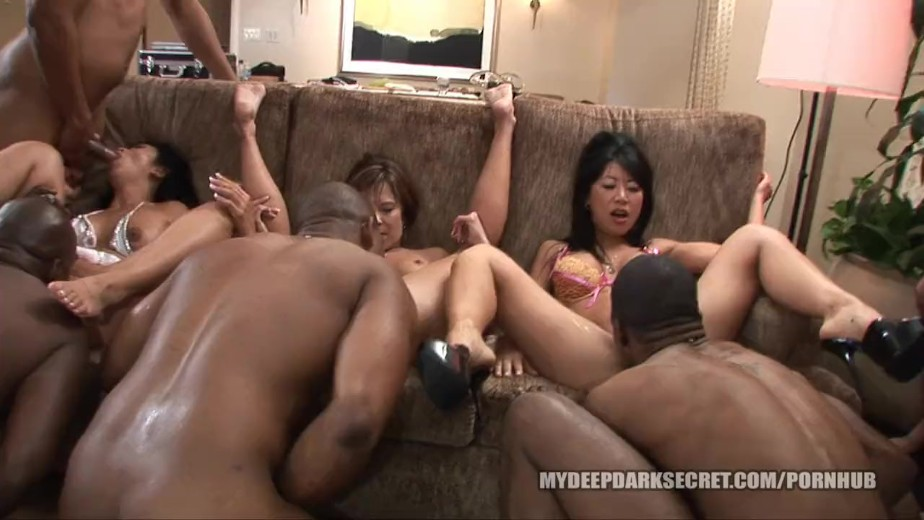 asian and black orgy