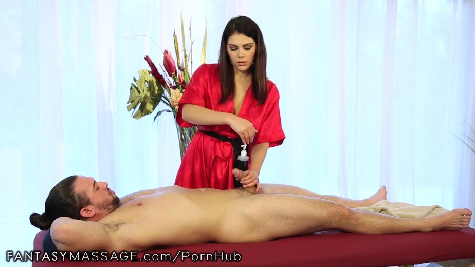 Nuru cassidy oils up and massages older guy 8