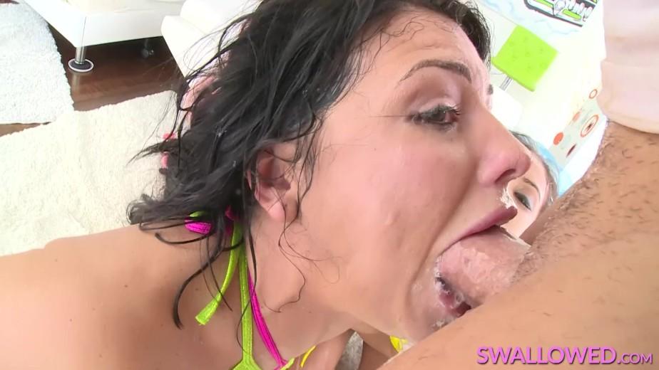 triple Adriana sloppy in and megan blowjob jynx