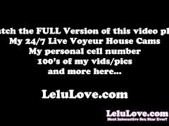Lelu Love-Hairjob BJ Riding Cum In Hair