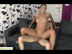Horny Mature Slut Marillin Sweet Fucked