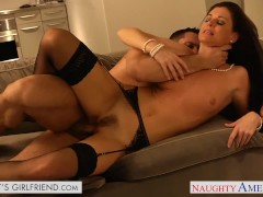 Brunette gf India Summer gets fucked