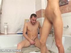 Abby Takes some hard dick in the tub