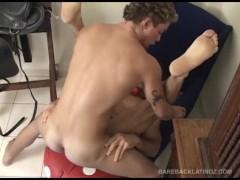Master and Slave Lationos Barebacking