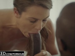 BLACKED First Interracial For Naughty Sister Ally Tate