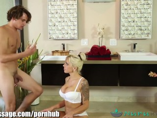 NuruMassage Son Fully Serviced by Step-Mom FULL SCENE