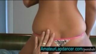 18yo amateur lenka masturbates her sweet pussy and lapdance 10