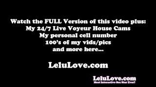 Lelu Love-Lingerie Stockings Garter Jerkoff Encouragement