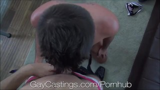 Gaycastings twink gymnast is flexible on camera
