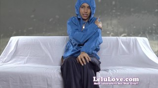 Lelu Love-Rain Gear Masturbation JOE