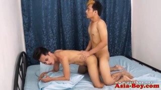Tiny Pinoy Twink Toelicked Before Barebacked