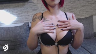 NEUES VIDEO! STRIP IN SCHWARZ