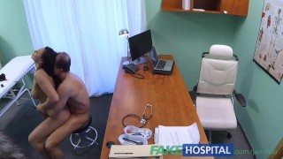 fakehospital doctor uniform nurse reality clinic hospital cumshot pov real-sex hardcore blowjob facial-cum spycam