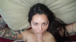 Wet and Sloppy Throat Fuck