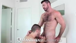manroyale – buff buddies kyle kash and billy santoro fuck – Gay Porn Video