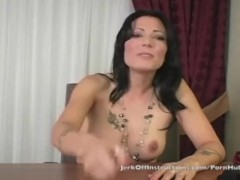 Teacher Zoey Holloway makes you stroke your cock