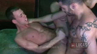 Sexy Arab Power Top Fucks Tight Bottom in a Club