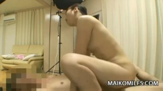 Japan MILF Tomomi Sone Gets Vibrator and Cock  sex-toy sucking maikomilfs asian mom exotic blow-job milf wet-pussy vibrator japanese cowgirl doggy japan cougar mother