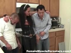 Punishing Naughty Houseboys Nikki Jackson Style