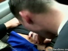 Cock Sucking In The Car