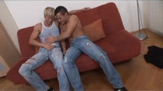 Bi Now Gay Later 2 - Scene 3  euro blonde cumshot fetish stocking milf bi kinky rimming big-dicks ass-fucking heels anal corset facial pornhub.com