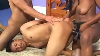 Bi Tastic - Scene 9  vibrator bi cumshots ass-fucking anal pornhub.com raven ebony dildo booty-butt blowjob skinny