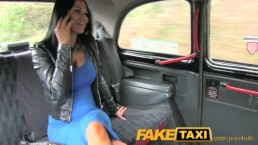FakeTaxi Sex starved career woman in lunch break sex tape