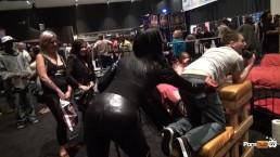 PornhubTV Allan Gets Flogged at eXXXotica 2013