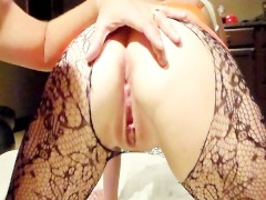 Best Anal Creampie Squirting out of Gushing Wet Hot Squirting Pussy