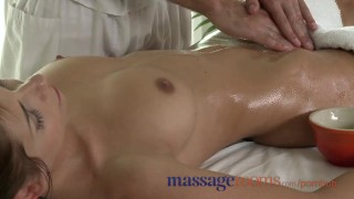 Preview 1 of Massage Rooms Tight young girls squirting with orgasm before creampie