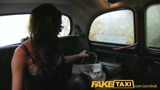 FakeTaxi Busty tits and blowjob lips  homemade british amazon big-tits massive-tits point-of-view amateur blowjob public titty-fuck camera faketaxi spycam car brunette reality deepthroat doggystyle climax