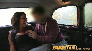 FakeTaxi Busty tits and blowjob lips  homemade british amazon big-tits massive-tits point-of-view amateur blowjob public titty-fuck camera faketaxi spycam car brunette climax reality deepthroat doggystyle