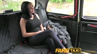 FakeTaxi Show girl with big tits fucks for cash  homemade shaved-pussy amateur blowjob big-boobs public dick-sucking camera busty faketaxi spycam brunette reverse-cowgirl reality deepthroat