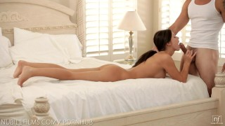 Nubile Films - Blow your load on Whitneys huge tits  nubilefilms.com bombshell big-tits pussy-licking blowjob cumshot big-boobs busty cum-on-tits sensual natural-tits passion gagging facefuck big-dick orgasm