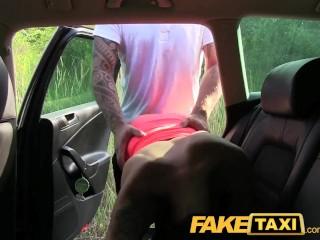 Cock Enjoys Stunning video: FakeTaxi Stunning brunette enjoys a thick cock
