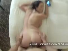 Busty Angela White POV Fuck