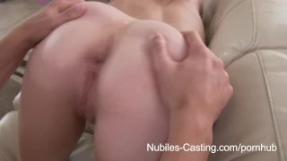Preview 5 of Nubiles Casting - Can she take it deep enough to get the job?