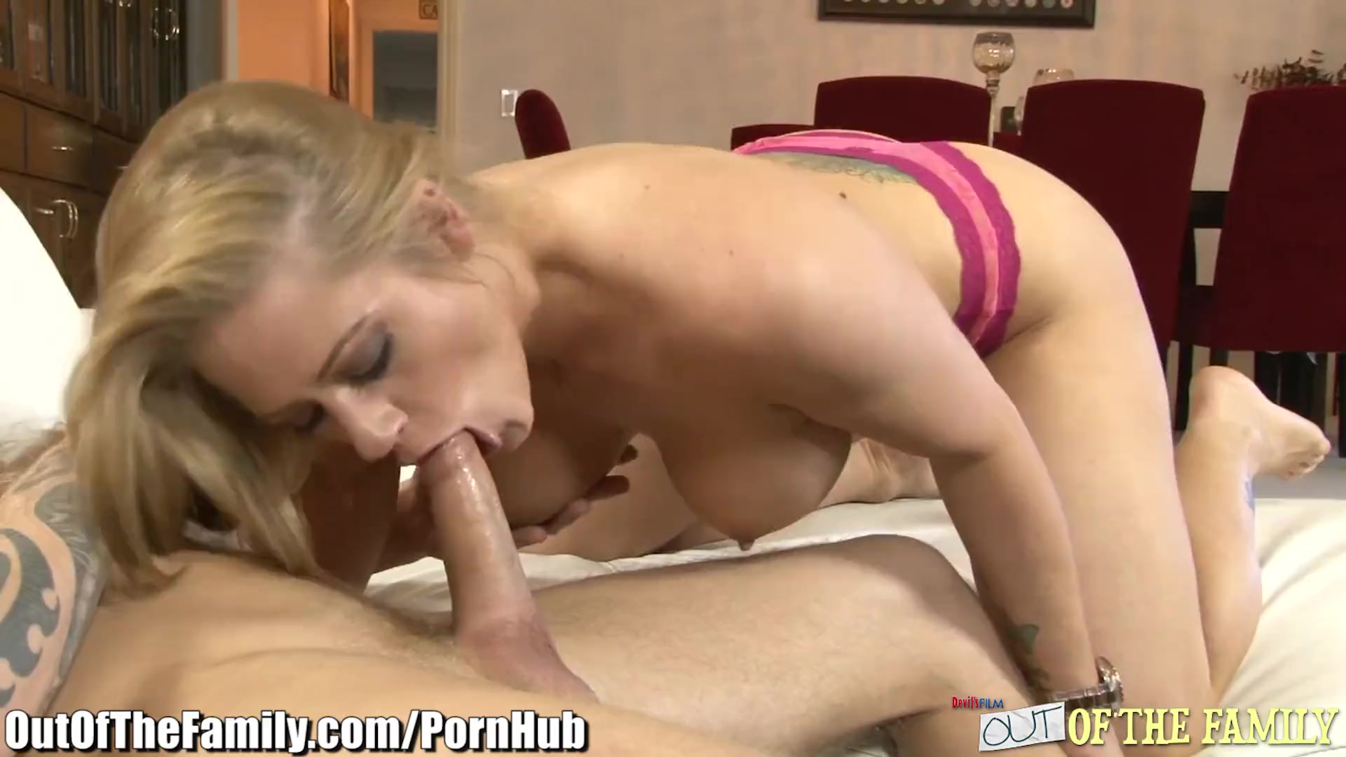 MILF Ass Fucked Hard By Daughter