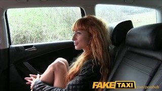 Preview 5 of FakeTaxi Sexy redhead takes a pounding from behind