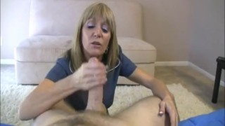 Preview 6 of Blonde Milf Likes Huge Cocks