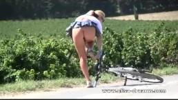 Nude in public and dirty bikin