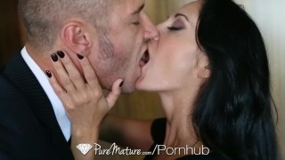HD - PureMature Busty Ava Addams bounces her ass on mans cock