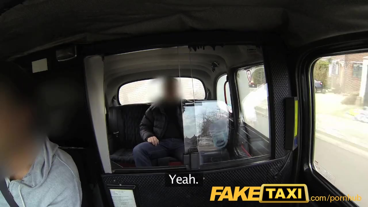 FakeTaxi Btitish Taxi gangbang