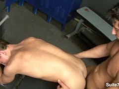 Sexy jocks suck cocks and fuck their asses